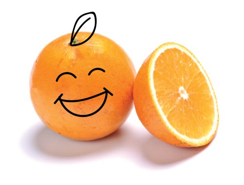 Happy Food Juice Orange