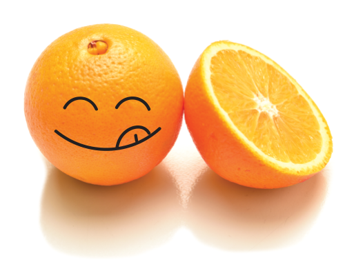 Happy Food Navel Orange