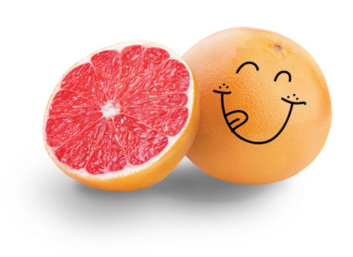 Happy Food Red Grapefruit