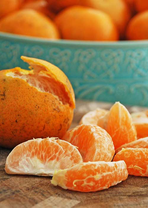 Happy Food Tangerines